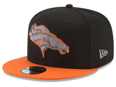 Denver Broncos New Era NFL Heather Pop 9FIFTY Snapback Cap
