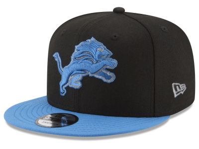 Detroit Lions New Era NFL Heather Pop 9FIFTY Snapback Cap
