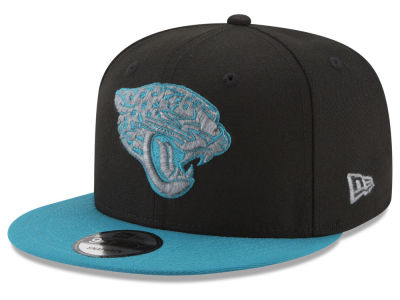 Jacksonville Jaguars New Era NFL Heather Pop 9FIFTY Snapback Cap