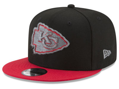 Kansas City Chiefs New Era NFL Heather Pop 9FIFTY Snapback Cap