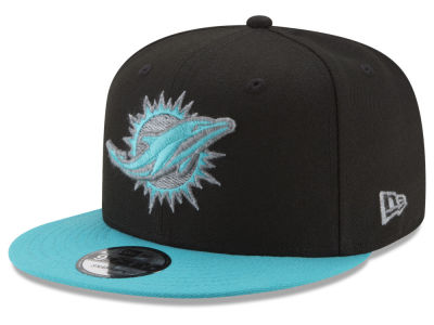 Miami Dolphins New Era NFL Heather Pop 9FIFTY Snapback Cap