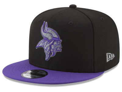 Minnesota Vikings New Era NFL Heather Pop 9FIFTY Snapback Cap