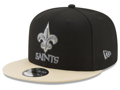 New Orleans Saints New Era NFL Heather Pop 9FIFTY Snapback Cap