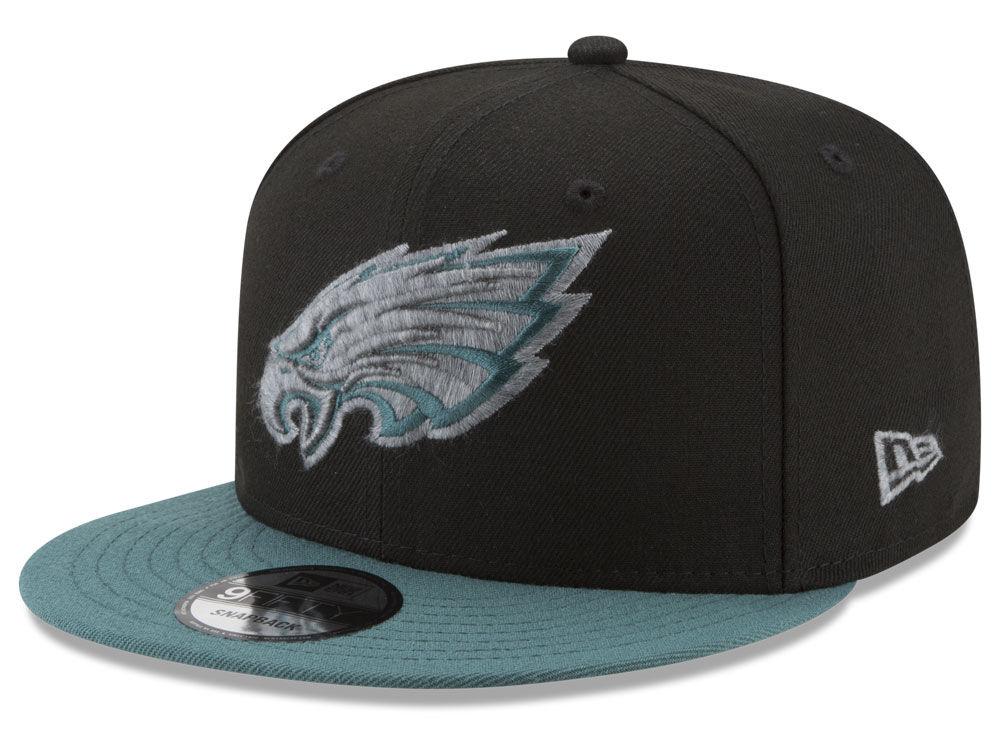 Philadelphia Eagles New Era NFL Heather Pop 9FIFTY Snapback Cap ... c8173ca7e257