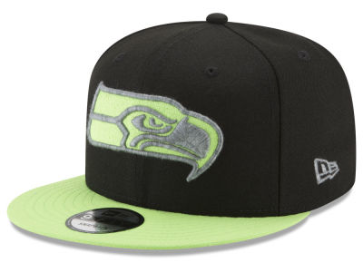 Seattle Seahawks New Era NFL Heather Pop 9FIFTY Snapback Cap