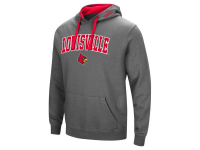 Louisville Cardinals Colosseum NCAA Men's Arch Logo Hoodie