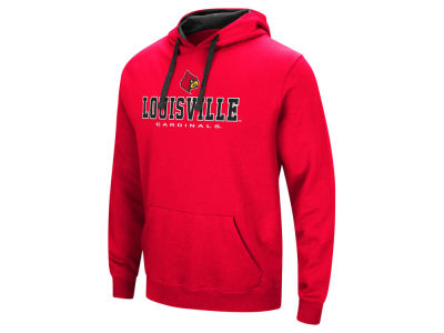 Louisville Cardinals NCAA Men's 3 Stack Logo Hoodie