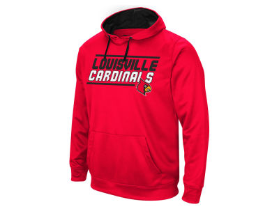 Louisville Cardinals Colosseum NCAA Men's Stack Performance Hoodie