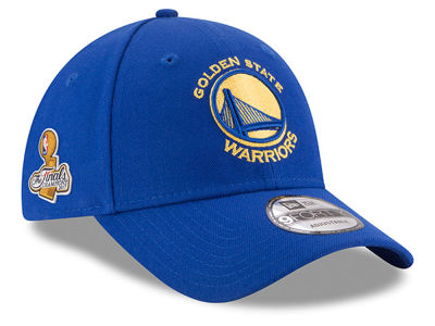 Golden State Warriors New Era 2017 NBA The League Champ Patch 9FORTY Cap