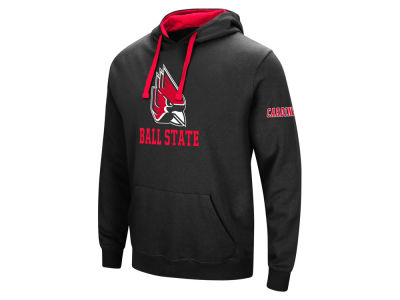 Ball State Cardinals Colosseum NCAA Men's Big Logo Hoodie