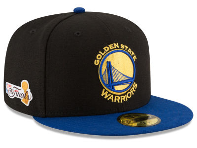 Golden State Warriors New Era 2017 NBA Finals 59FIFTY Cap