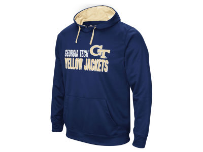 Georgia-Tech Colosseum NCAA Men's Stack Performance Hoodie