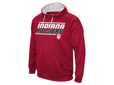 Indiana Hoosiers Colosseum NCAA Men's Stack Performance Hoodie