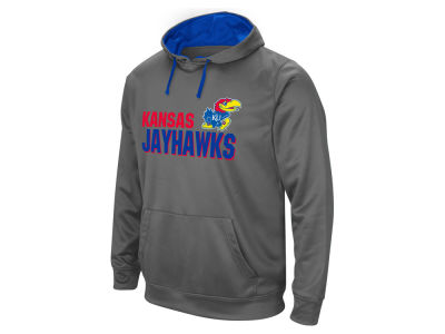 Kansas Jayhawks Colosseum NCAA Men's Stack Performance Hoodie