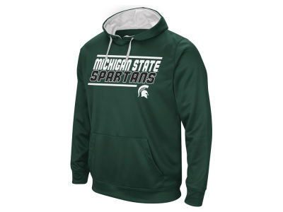 Michigan State Spartans Colosseum NCAA Men's Stack Performance Hoodie