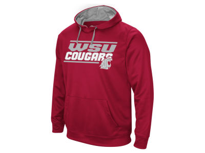 Washington State Cougars Colosseum NCAA Men's Stack Performance Hoodie