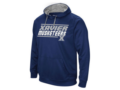 Xavier Musketeers Colosseum NCAA Men's Stack Performance Hoodie