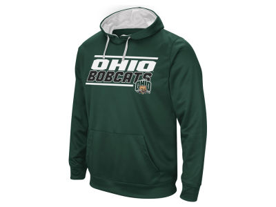 Ohio Bobcats Colosseum NCAA Men's Stack Performance Hoodie