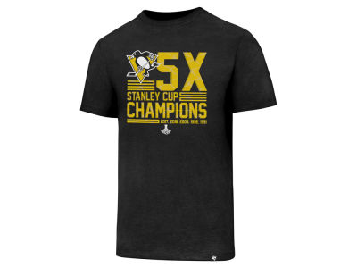 Pittsburgh Penguins '47 2017 NHL Men's Multi Champions Club T-Shirt