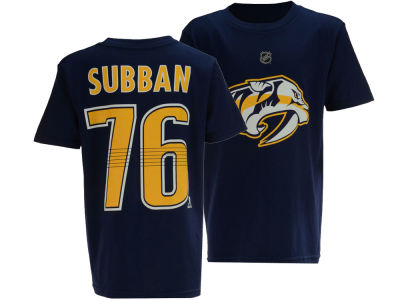 Nashville Predators P.K. Subban Outerstuff NHL Youth Player T-Shirt