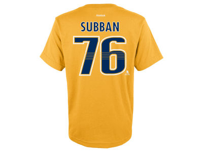 Nashville Predators P.K. Subban Outerstuff NHL Toddler Player T-Shirt