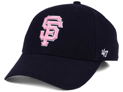 San Francisco Giants '47 MLB Navy Pink MVP Cap