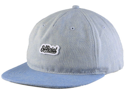 Official Liner Denim Strapback Cap