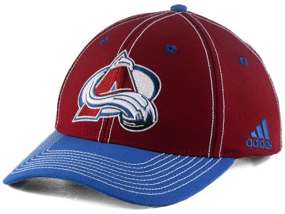 Colorado Avalanche adidas NHL Bar Down Adjustable Cap