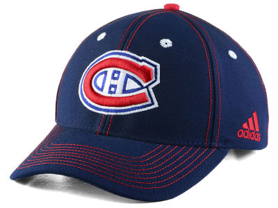 Montreal Canadiens adidas NHL Bar Down Adjustable Cap