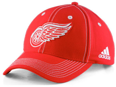 Detroit Red Wings adidas NHL Bar Down Adjustable Cap 94eb418dc