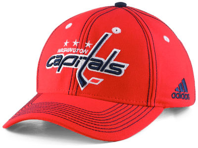 Washington Capitals adidas NHL Bar Down Adjustable Cap
