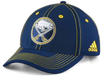 Buffalo Sabres adidas NHL Bar Down Adjustable Cap