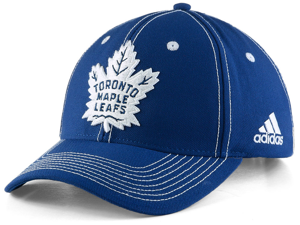 Toronto Maple Leafs adidas NHL Bar Down Adjustable Cap  255771cb78