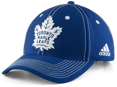 Toronto Maple Leafs adidas NHL Bar Down Adjustable Cap