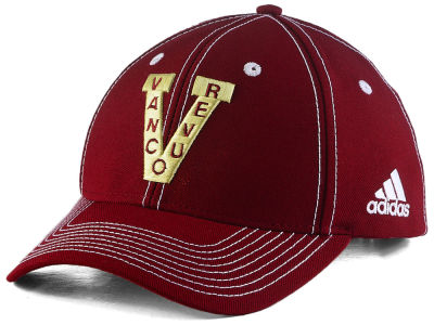 Vancouver Millionaires adidas NHL Bar Down Adjustable Cap