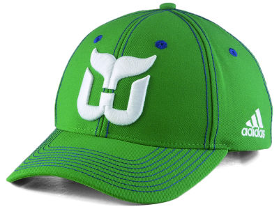 Hartford Whalers adidas NHL Bar Down Adjustable Cap