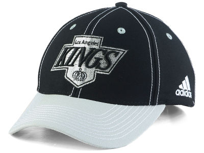 Los Angeles Kings adidas NHL Bar Down Adjustable Cap