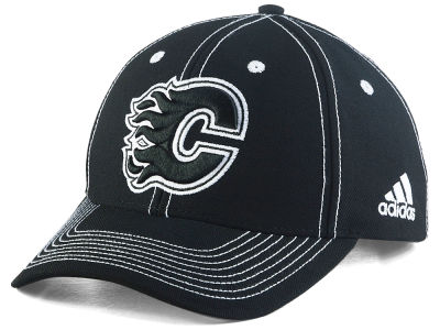 Calgary Flames adidas NHL Bar Down Adjustable Cap