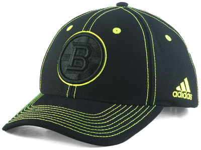 Boston Bruins adidas NHL Bar Down Adjustable Cap
