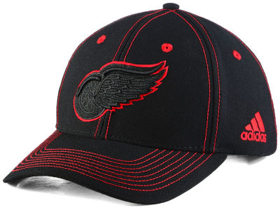 Detroit Red Wings adidas NHL Bar Down Adjustable Cap