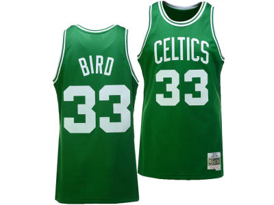 Boston Celtics Larry Bird Mitchell & Ness NBA Men's Hardwood Classic Swingman Jersey