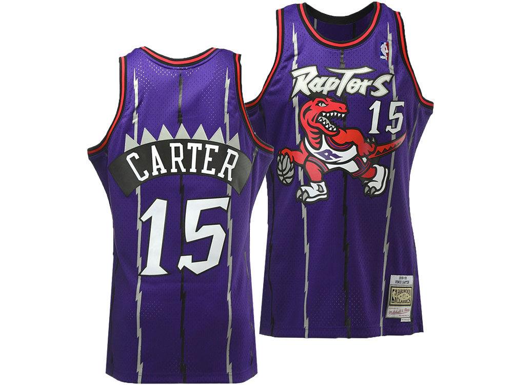 low priced 3f7e8 0106d Toronto Raptors Vince Carter Mitchell & Ness NBA Men's Hardwood Classic  Swingman Jersey