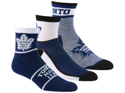 Toronto Maple Leafs 3-pack Quarter Socks