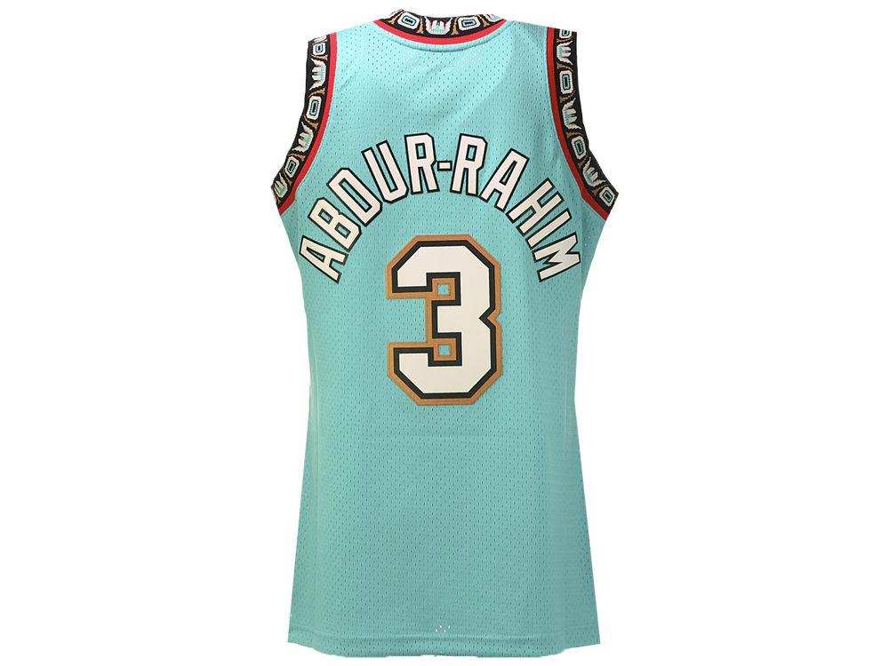 Vancouver Grizzlies Abdur Rahim Mitchell   Ness NBA Men s Hardwood Classic  Swingman Jersey  797499ee6