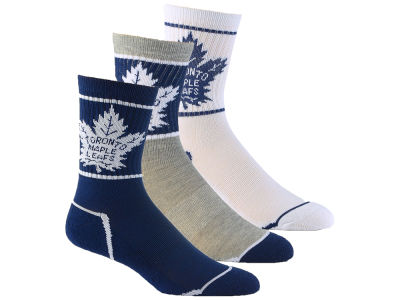 Toronto Maple Leafs Youth Sport Socks - 3pk