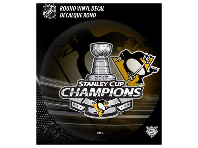Pittsburgh Penguins Vinyl Decal - Round