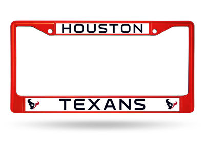 Houston Texans Rico Industries Chrome Frame