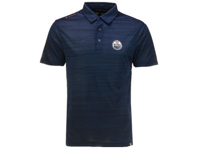 Edmonton Oilers NHL Men's Sway Wordmark Polo
