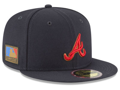 new product 1d5ef 4af91 Atlanta Braves New Era MLB Ultimate Patch Collection 125th Anniversary 59FIFTY  Cap