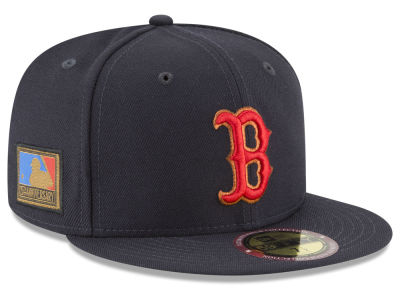 Boston Red Sox New Era MLB Ultimate Patch Collection 125th Anniversary 59FIFTY Cap